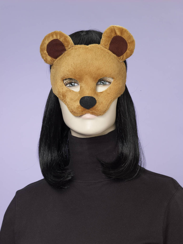 Bear Half Mask - HalloweenCostumes4U.com - Accessories