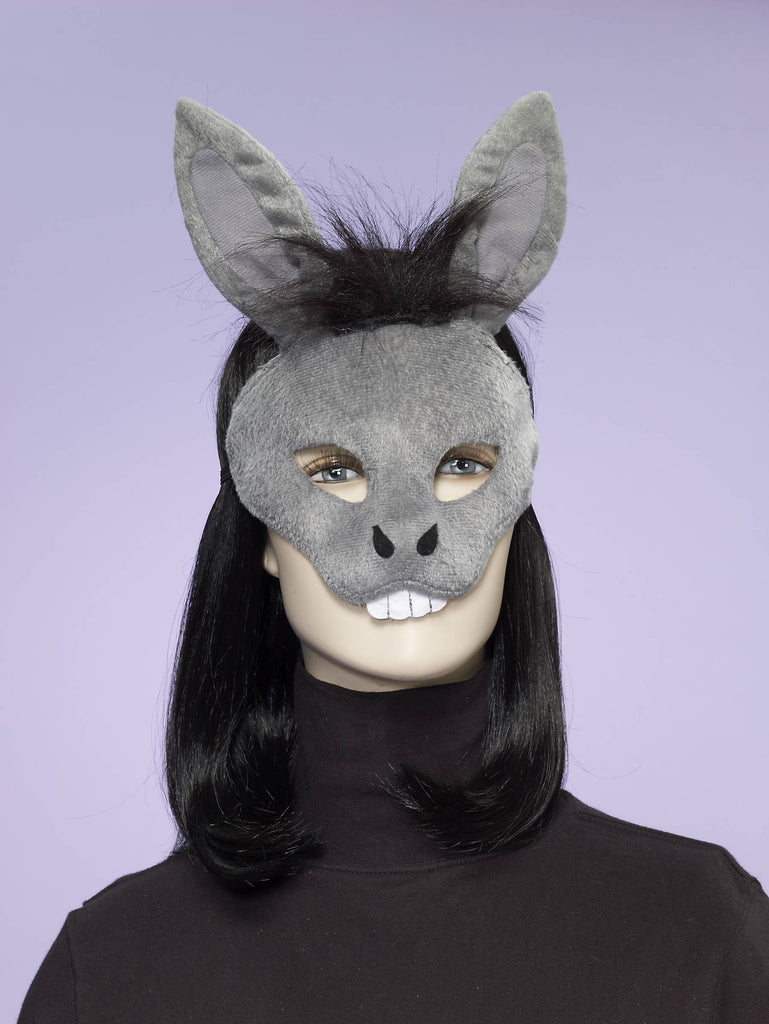 Donkey Half Mask - HalloweenCostumes4U.com - Accessories