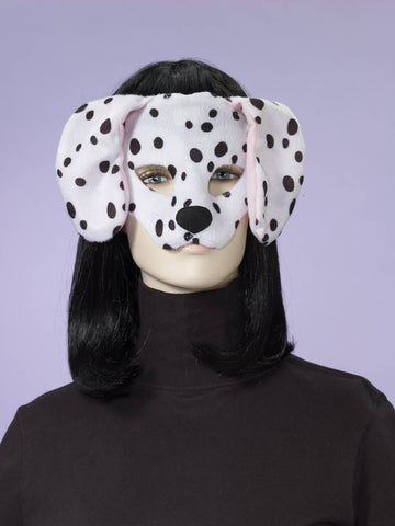 Dalmatian Half Mask - HalloweenCostumes4U.com - Accessories