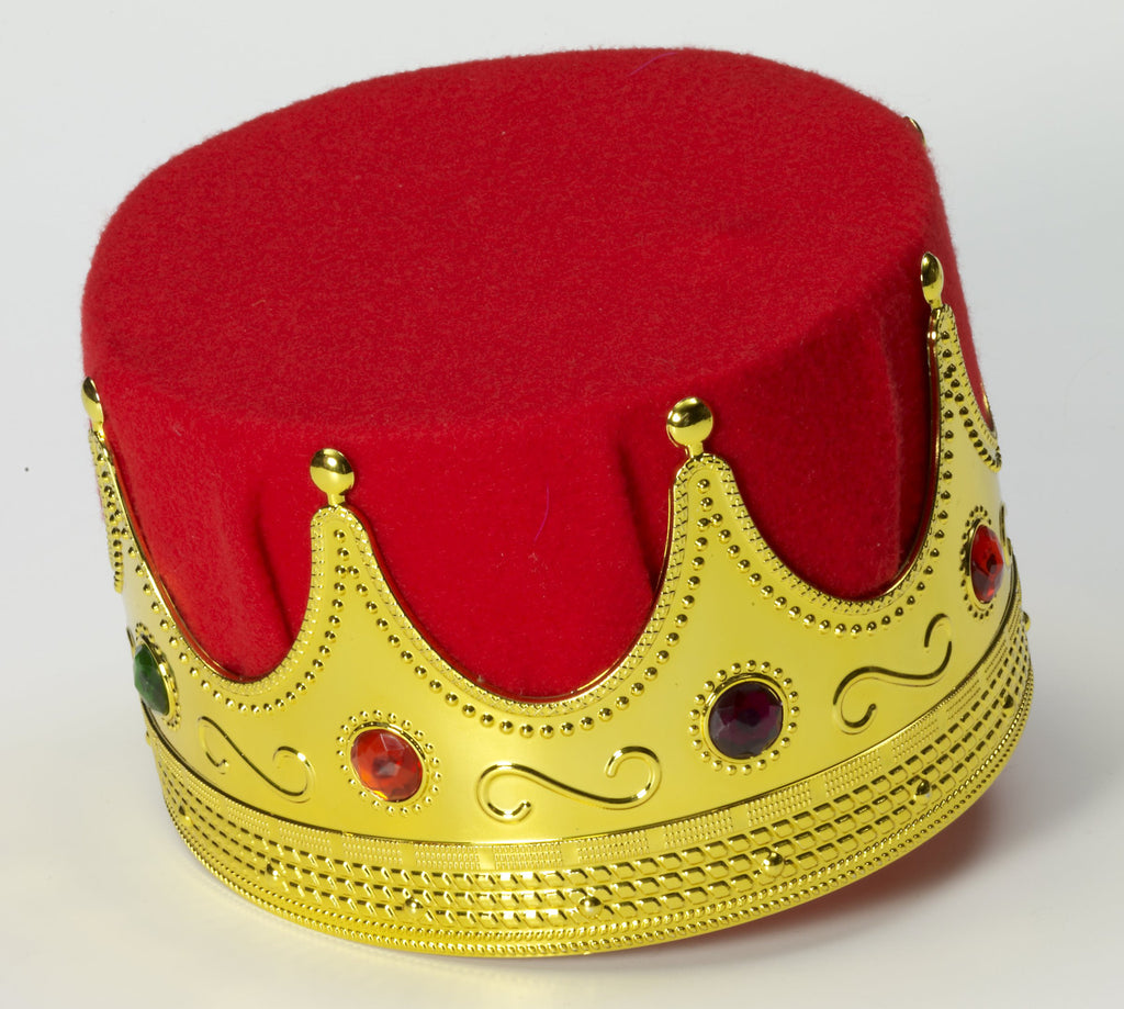 Royal Kings Crown Costume Headpiece - HalloweenCostumes4U.com - Accessories