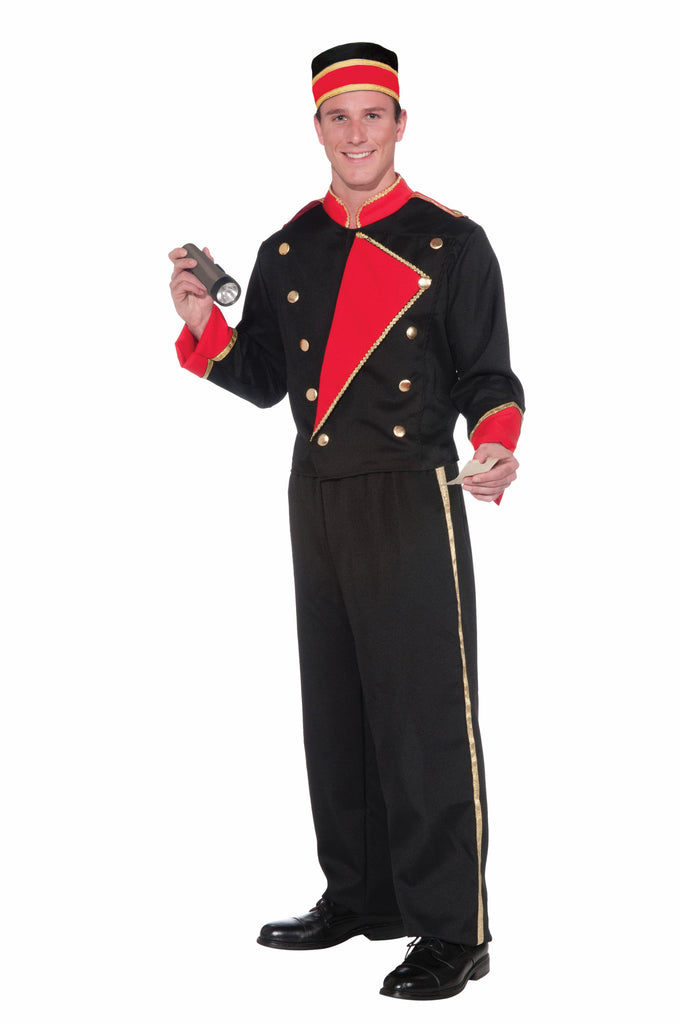 Costume - Vintage Hollywood Movie Usher - HalloweenCostumes4U.com - Costumes