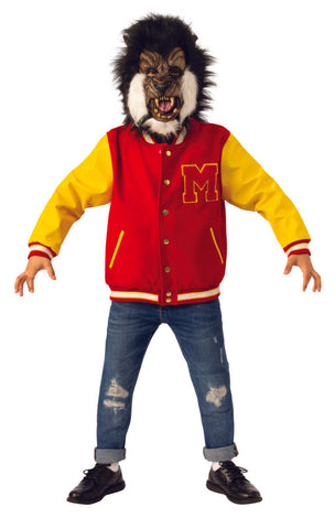 Kids Michael Jackson Deluxe Thriller Werewolf Jacket and Mask Set