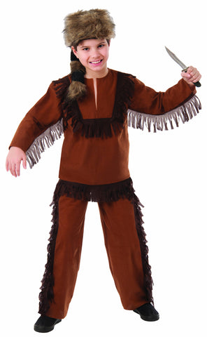 Boys Davy Crockett Costume - HalloweenCostumes4U.com - Kids Costumes