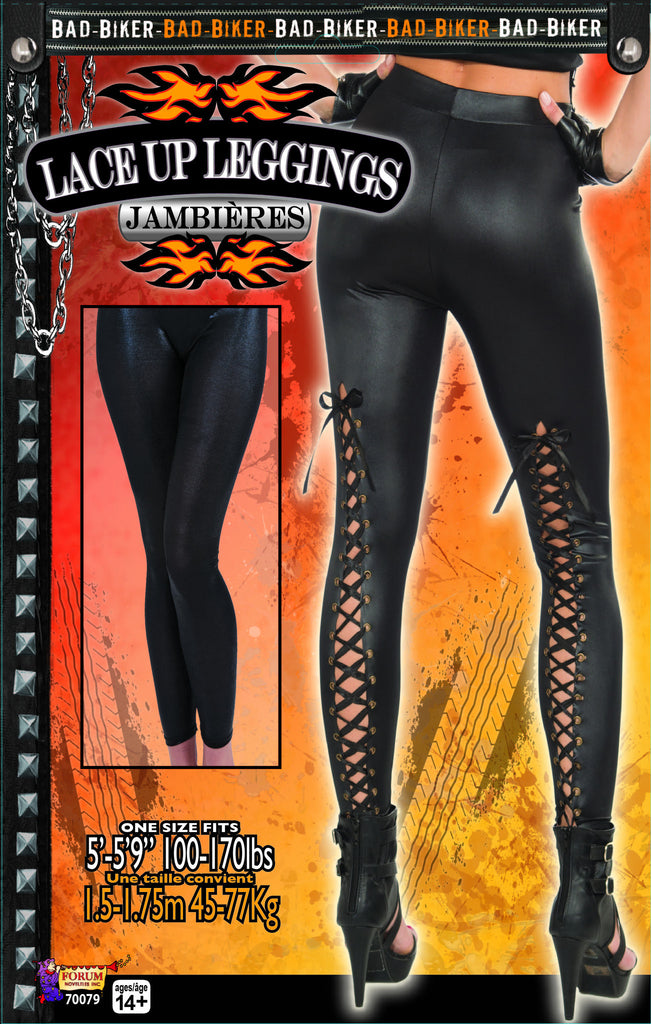 Lace Up Leggings - HalloweenCostumes4U.com - Accessories