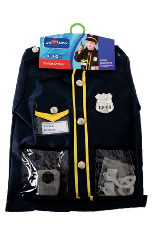 Kids Police Officer Dress Up Set - HalloweenCostumes4U.com - Kids Costumes - 2