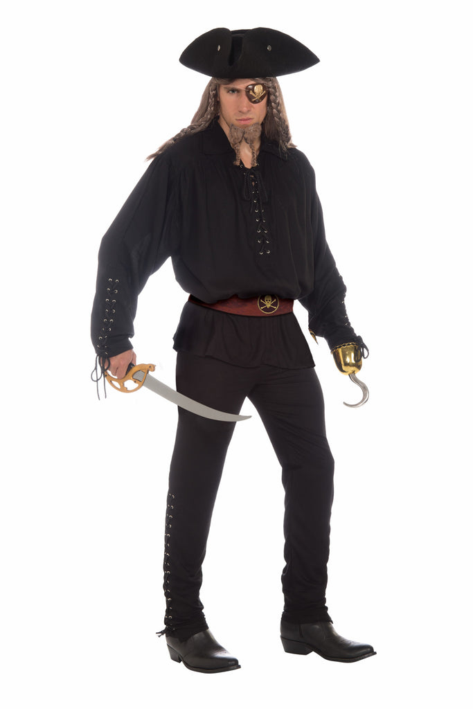 Mens Buccaneer Pants - HalloweenCostumes4U.com - Adult Costumes