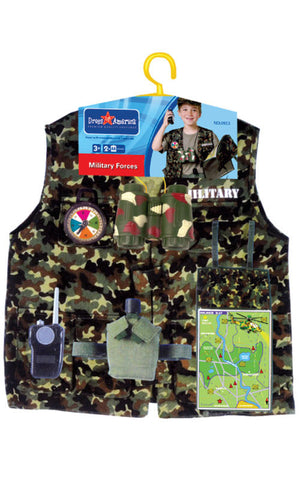 Kids Military Forces Dress Up Set - HalloweenCostumes4U.com - Kids Costumes - 2