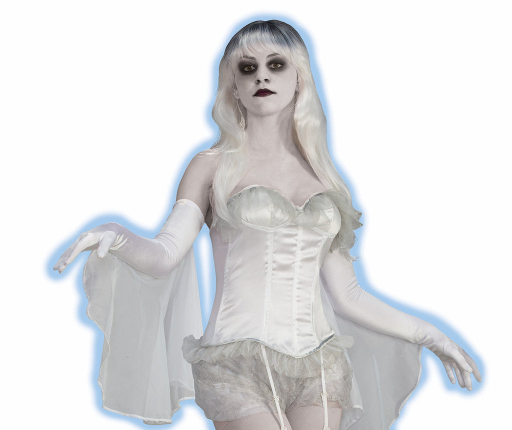 Ghost-Corset - HalloweenCostumes4U.com - Accessories