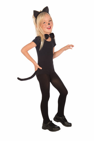 Kids Kitty Cat Accessory Kit - HalloweenCostumes4U.com - Accessories