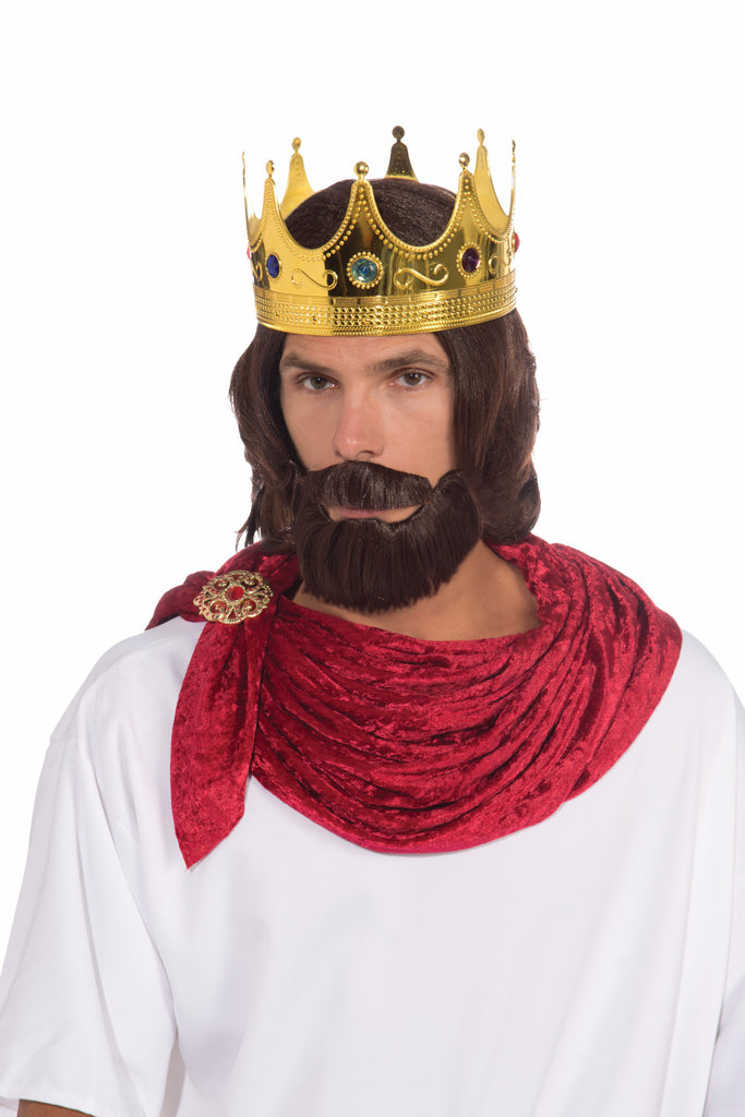 Royal King-Wig/Beard/Moustache - HalloweenCostumes4U.com - Accessories