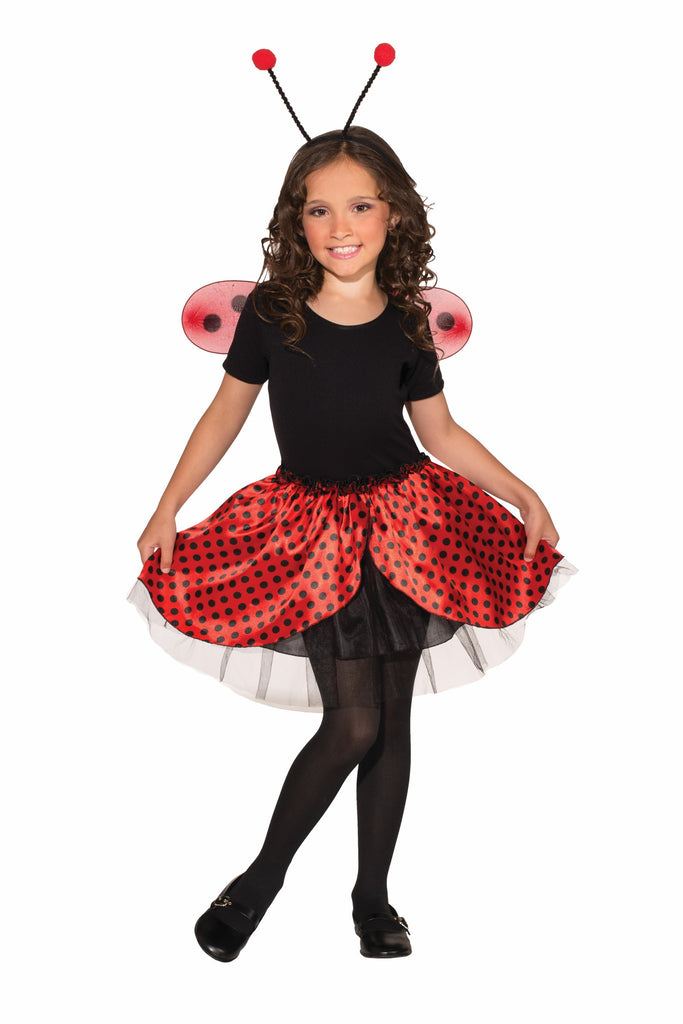 Kids Ladybug Tutu & Accessory Kit - HalloweenCostumes4U.com - Accessories
