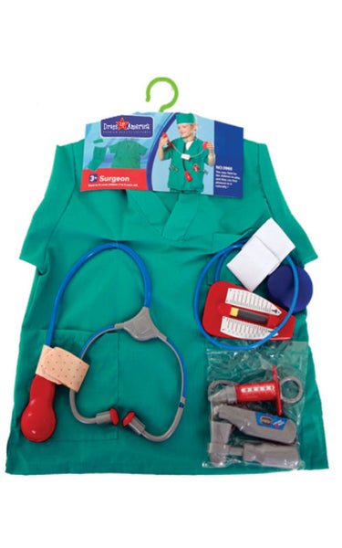 Kids Surgeon Dress Up Set - HalloweenCostumes4U.com - Kids Costumes - 2