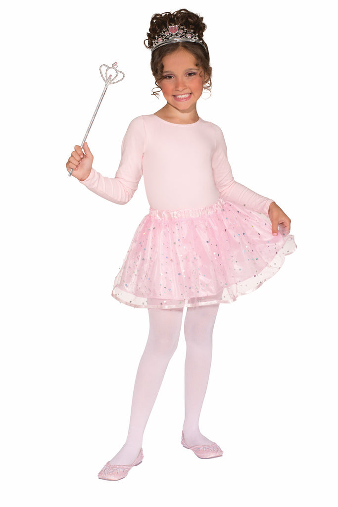 Girls Sassy Princess Tutu & Accessory Kit - HalloweenCostumes4U.com - Accessories