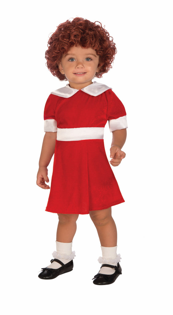 Toddlers Little Orphan Annie Costume - HalloweenCostumes4U.com - Infant & Toddler Costumes