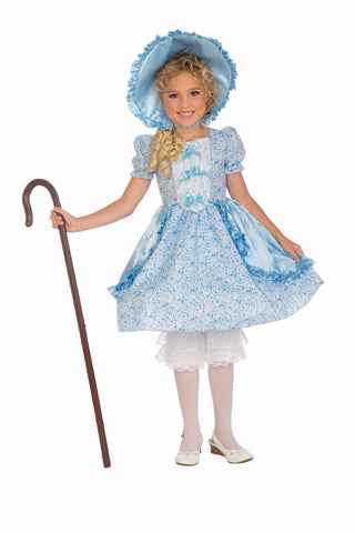 Girls Lil' Bo Peep Costume - HalloweenCostumes4U.com - Kids Costumes
