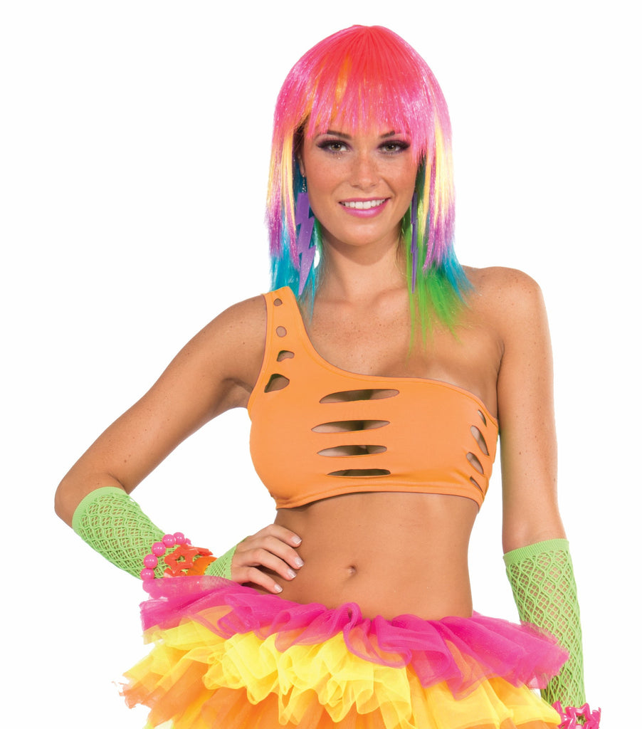 Club Candy Cut Bra-Orange - HalloweenCostumes4U.com - Accessories