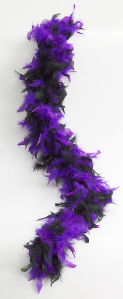 Two Tone Feather Boa - Various Colors - HalloweenCostumes4U.com - Accessories - 5
