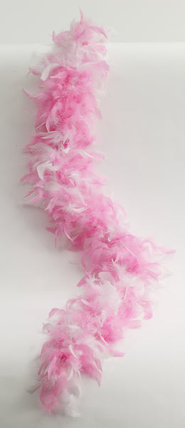 Two Tone Feather Boa - Various Colors - HalloweenCostumes4U.com - Accessories - 4