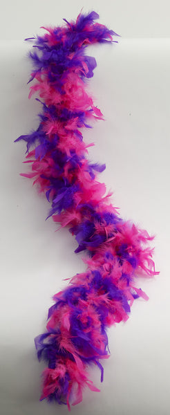 Two Tone Feather Boa - Various Colors - HalloweenCostumes4U.com - Accessories - 3