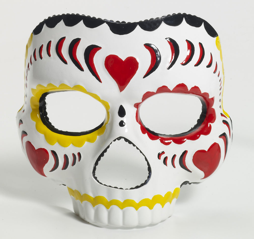 Mask - Day Of The Dead - Female - HalloweenCostumes4U.com - Accessories