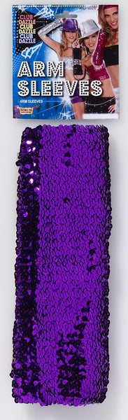 Sequin Arm Sleeves - Various Colors - HalloweenCostumes4U.com - Accessories - 4
