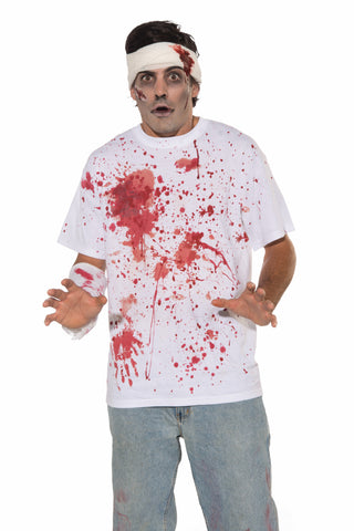 Bloody Shirt - HalloweenCostumes4U.com - Adult Costumes
