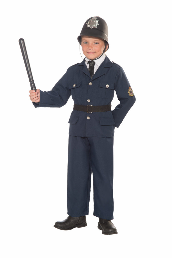 Boys British Bobbie Police Costume - HalloweenCostumes4U.com - Kids Costumes