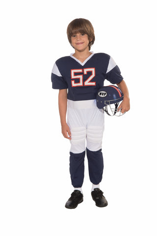 Boys Football Player Costume - HalloweenCostumes4U.com - Kids Costumes