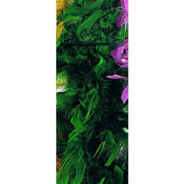Green Turkey Feather Boa - HalloweenCostumes4U.com - Accessories