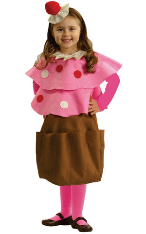 Girls Creamy Cupcake Costume - HalloweenCostumes4U.com - Kids Costumes