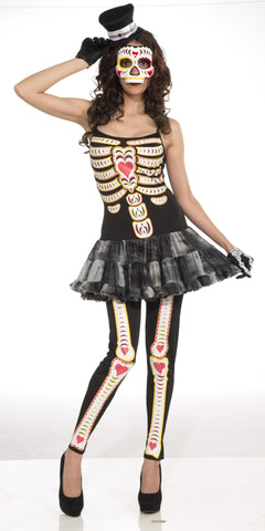 Costume - Day Of The Dead - Female - HalloweenCostumes4U.com - Adult Costumes