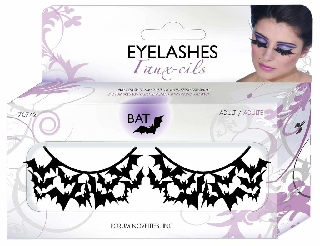 Paper Eyelashes-Bats - HalloweenCostumes4U.com - Accessories