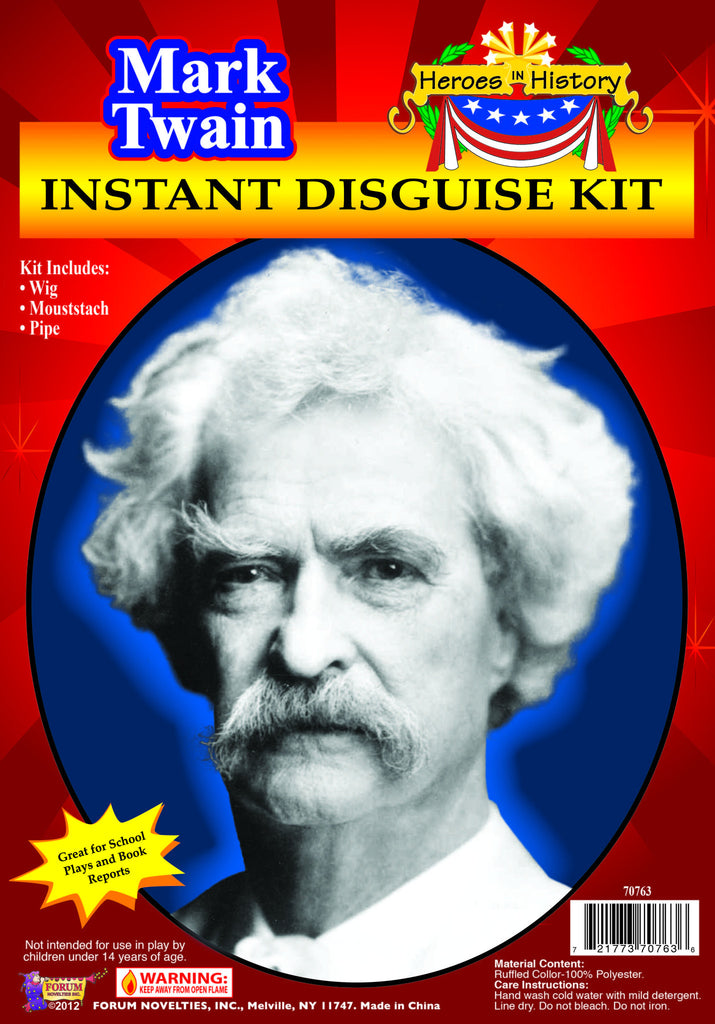 Heroes In History-Mark Twain - HalloweenCostumes4U.com - Accessories