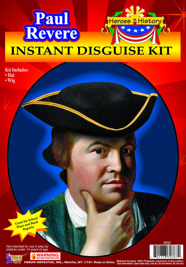 Heroes In History-Paul Revere - HalloweenCostumes4U.com - Accessories
