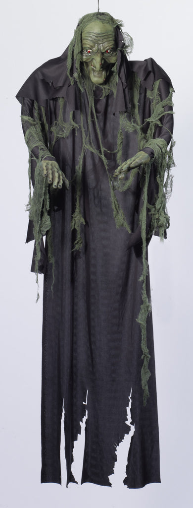6' Hanging Witch Ghost Prop