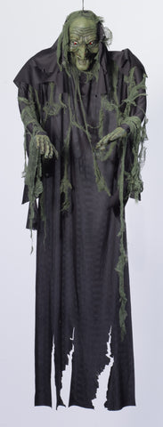 6' Hanging Witch Ghost Prop - HalloweenCostumes4U.com - Decorations