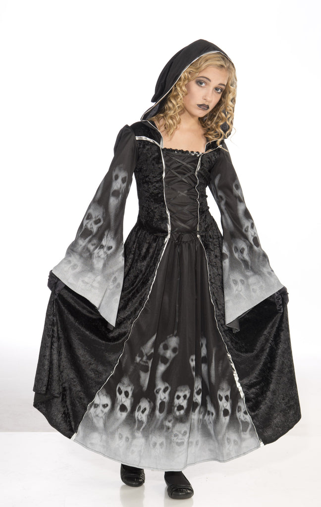 Girls Forsaken Souls Costume - HalloweenCostumes4U.com - Kids Costumes