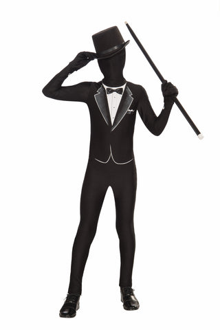 Formal Suit Second Skin Suit - Large - HalloweenCostumes4U.com - Kids Costumes
