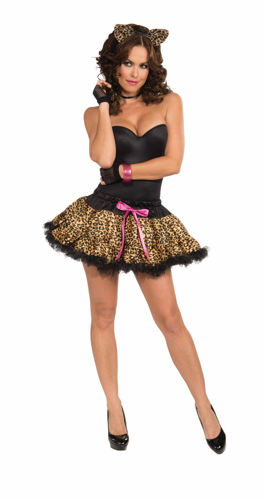Leopard Tutu & Headband Set-Adult