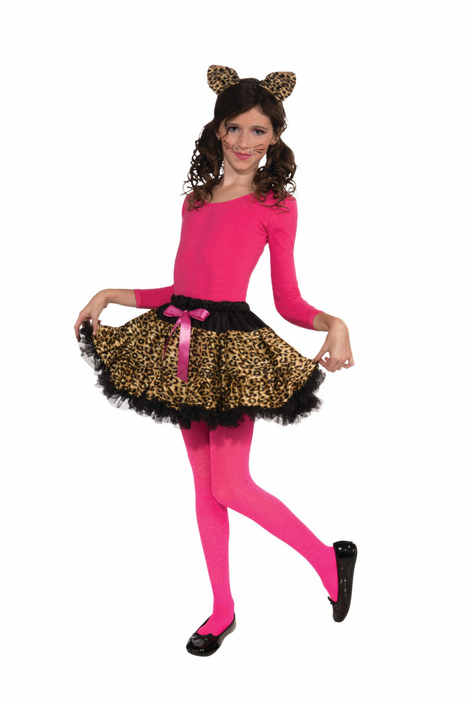 Leopard Tutu & Headband Set-Child - HalloweenCostumes4U.com - Accessories