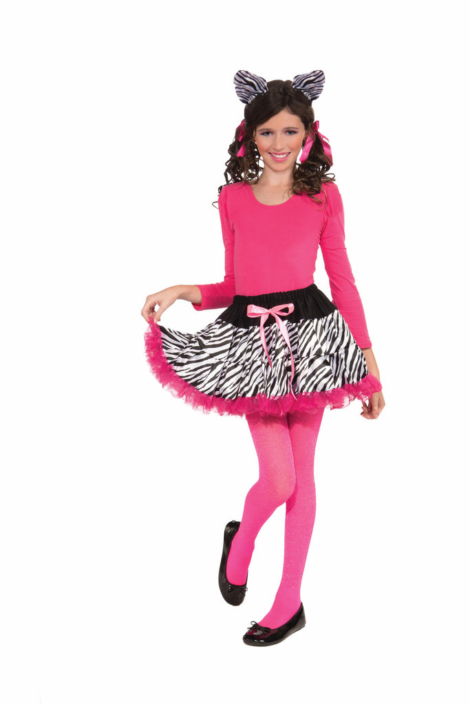 Zebra Tutu & Headband Set-Child - HalloweenCostumes4U.com - Accessories