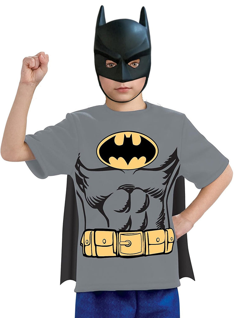Boys Batman  T-Shirt Costume Set