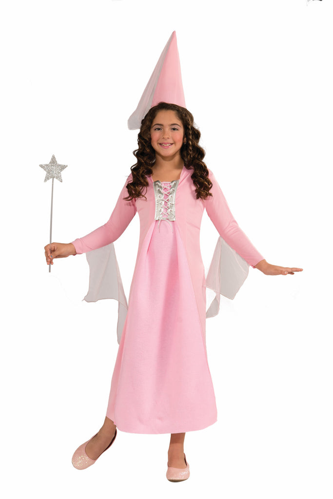 Girls Pink Princess Costume - HalloweenCostumes4U.com - Kids Costumes