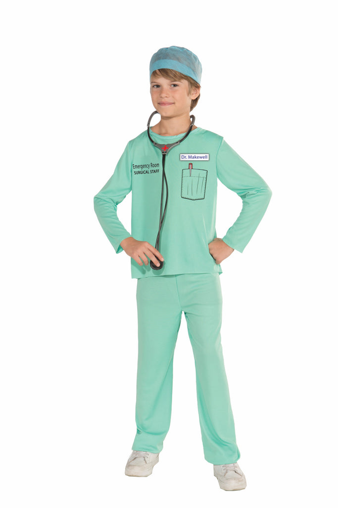 Kids Doctor Costume - HalloweenCostumes4U.com - Kids Costumes