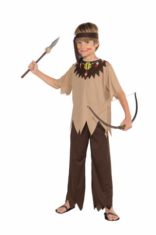 Boys Native American Brave Costume - HalloweenCostumes4U.com - Kids Costumes