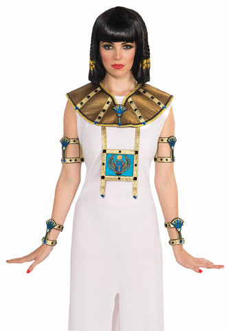 Deluxe Egyptian Collar-Female-2Pc - HalloweenCostumes4U.com - Accessories