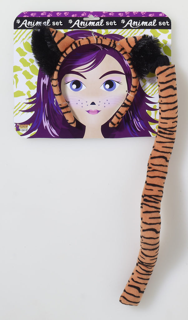 Tiger Accessory Kit - HalloweenCostumes4U.com - Accessories