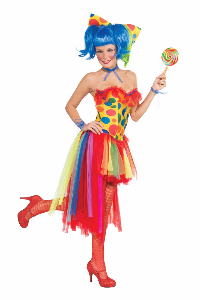Pippi Polka Dot Clown-Tutu - HalloweenCostumes4U.com - Accessories