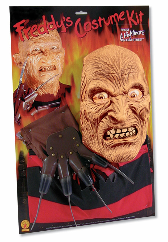 Freddy Set-Shirt/Mask/Glove-St - HalloweenCostumes4U.com - Costumes