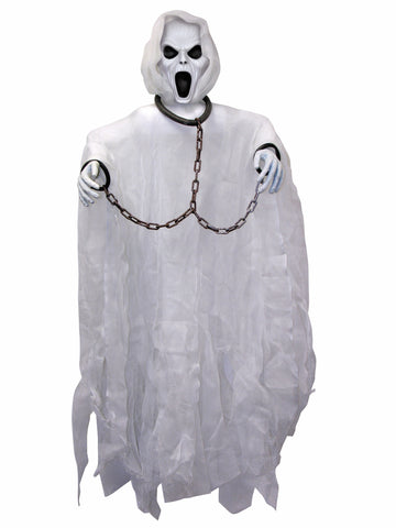 3' Screaming Ghost Prop - HalloweenCostumes4U.com - Decorations